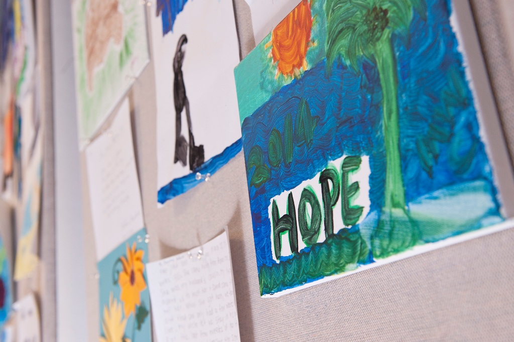 Oncology on Canvas helps paint a journey